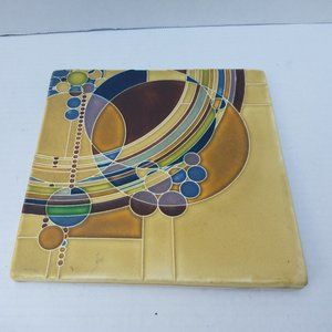 FRANK LLOYD WRIGHT Ceramic Trivet Tile Art Motawi